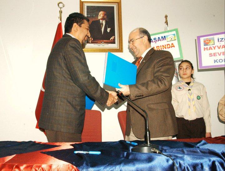 (*)HAYTAP,  Çankaya İlçe Milli Eğitim İle ''Eğitim Protokolünü''  İmzaladı