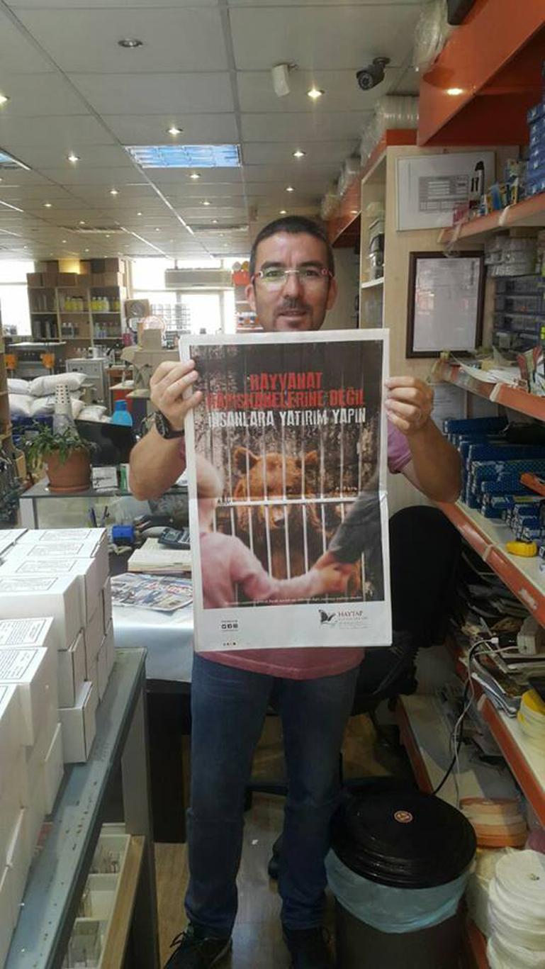 Hayvanat Bahçeleri İle İlgili Sabah Gazetesi Tam Sayfa İlanımız