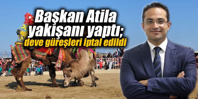 Başkan Atila yakışanı yaptı; deve güreşleri iptal edildiKaynak: Başkan Atila yakışanı yaptı; deve güreşleri iptal edildi