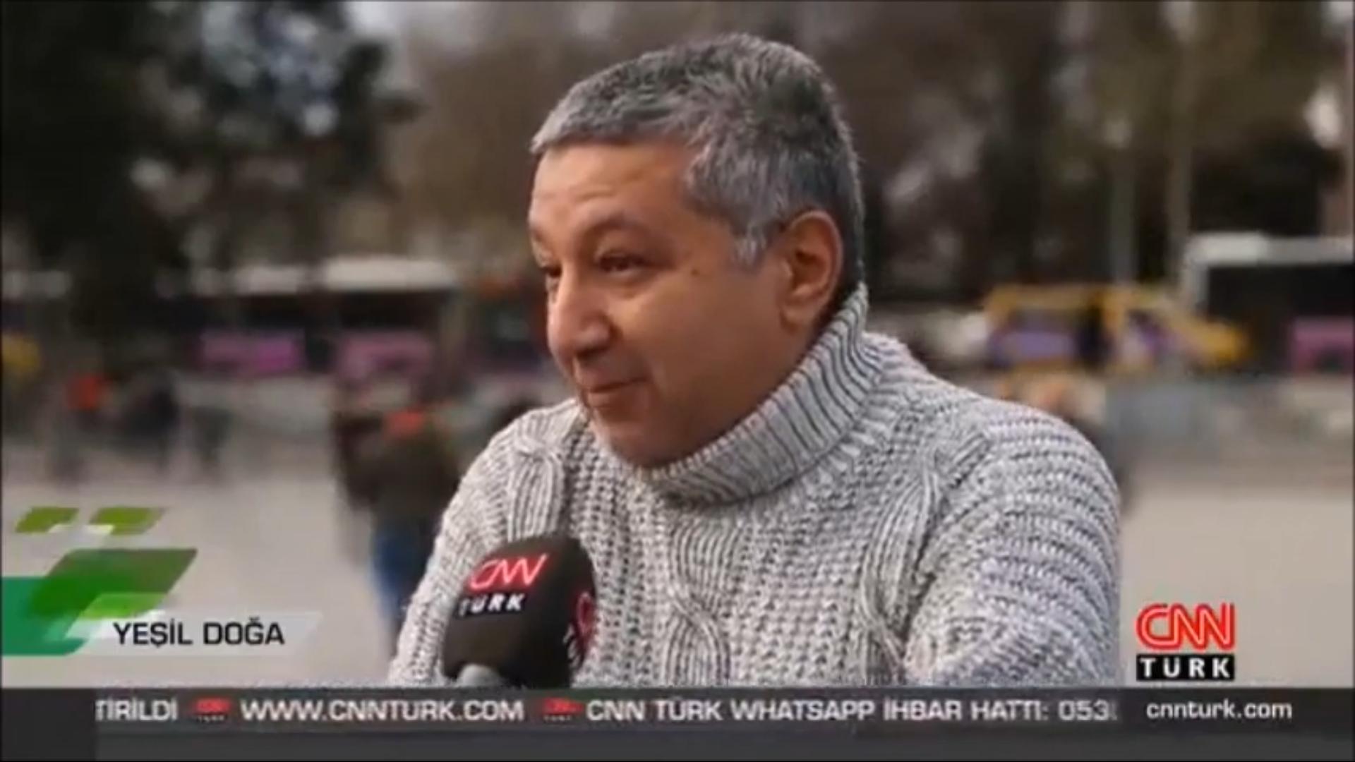 Atlı faytonlar ile yaptığımız mücadele ile ilgili, CNN Türk Yeşil Doğa programındaydık. ÖZET