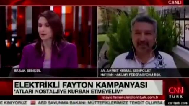 HAYTAP' tan Israrlı Elektrikli Fayton Kampanyası - Cnn Türk Yayını