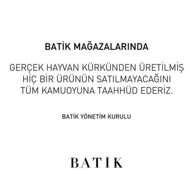 Batik Firması Haytap'ın Yayınları Üzerine Geri Adım Attı !