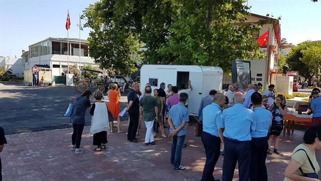 2017 Haytap Takvim Gelirleri İle Burgazada'ya Klinik Yapıldı