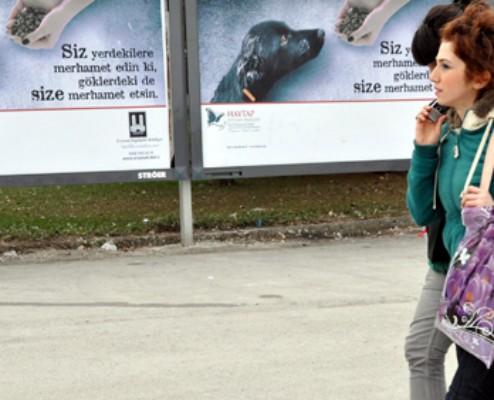 Erzurum Caddeleri Haytap Afişleriyle Donatıldı HÜRRİYET