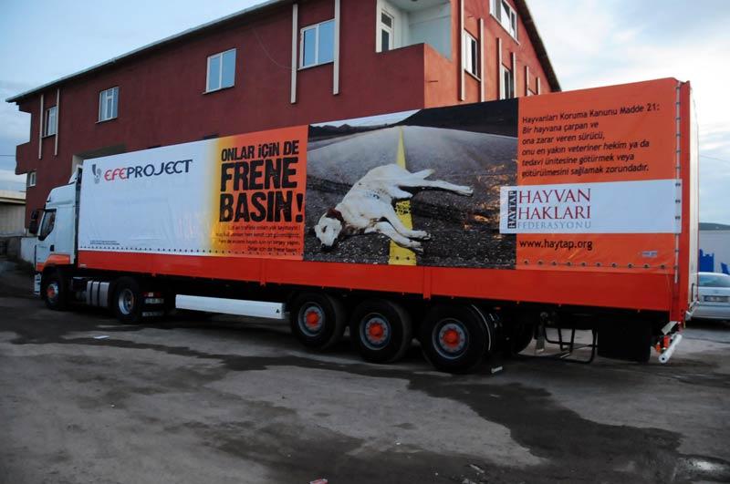 ''Onlar İçin de Frene Bas'' Uluslararası Yollarda