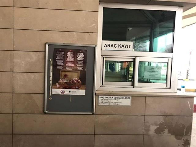(*) İstanbul Dış Hatlar Terminaline Astırdığımız Panolar