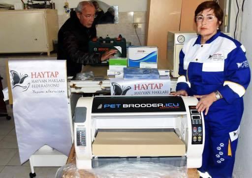 Toyzz Shop & HAYTAP Cooperation for Donations to Turgut Reis Animal Rehabilitation Center