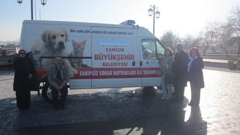 HAYTAP'ın İşbirliğiyle Samsun'da Mucize Gerçekleşiyor: Hayvan  Ambulansı