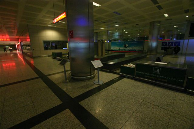 The Boards We Put in the Istanbul Airport International Terminal