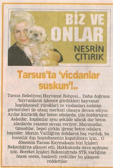 Tarsus Hayvan Hapishanesi