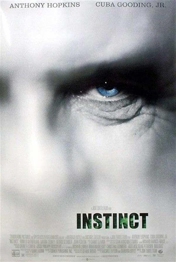''Instinc''  ( İçgüdü ) - Anthony Hopkins (*)