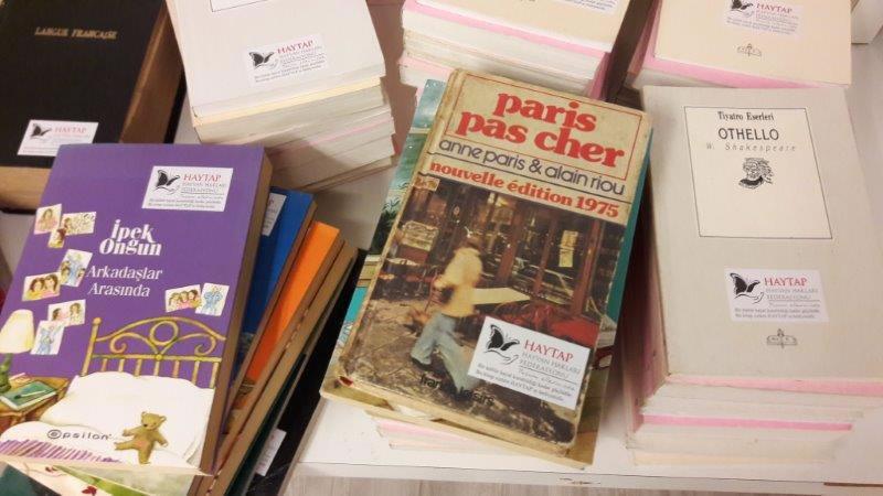 Haytap'ın Nazım Hikmet Kültür ve Sanat Vakfına Kitap Bağışı