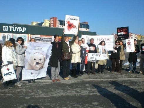 HAYTAP, 17 Ocak Kürk'e Hayır Etkinliği