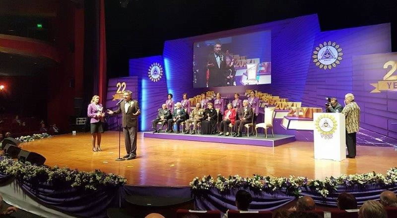World Brotherhood Union Mevlana Surpreme Foundation has awarded HAYTAP with its Best Community Service NGO Award