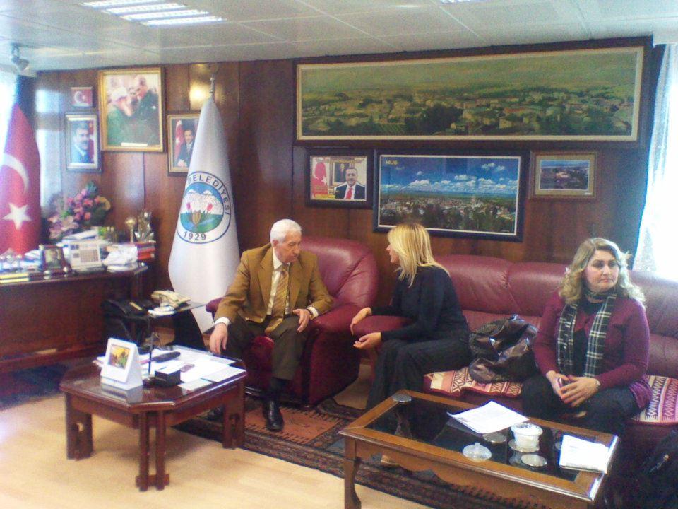 HAYTAP Doğu Anadolu İmdat Turu Ekibi MUŞ'TA