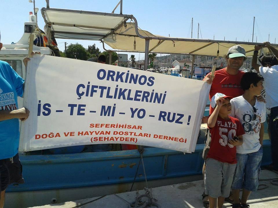 Denizde, Havada, Karada, Haytap Her Yerde - Mavi Öfke /ORKİNOS MEZBAHA' sına HA-YIR !