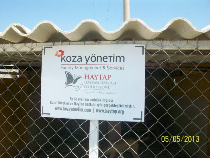 Haytap 2013 Takvim Geliri Denizli Sarayköy Bakımevinde