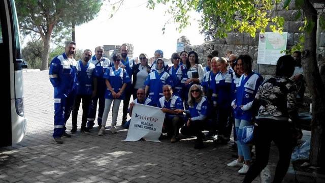 Haytap 10. Ulusal Temsilciler Toplantısı Priene ve Miletos'ta Yapıldı