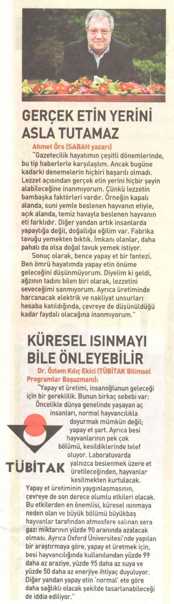 Midemizde Hayvan Mezarlığı Olmasın - Ahmet Kemal Şenpolat